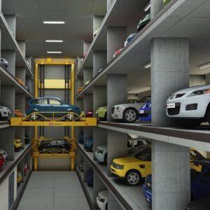 Hệ thống đỗ xe tự động của Hàn Quốc AJDongyang và của Trung Quốc XIZI do Việt Chào cung cấp